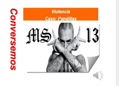 Pandillas Salvadoreñas en EEUU