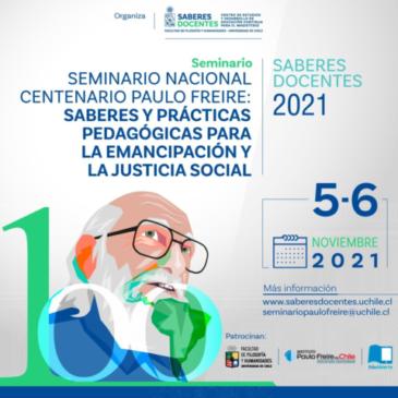 SEMINARIO NACIONAL CENTENARIO PAULO FREIRE
